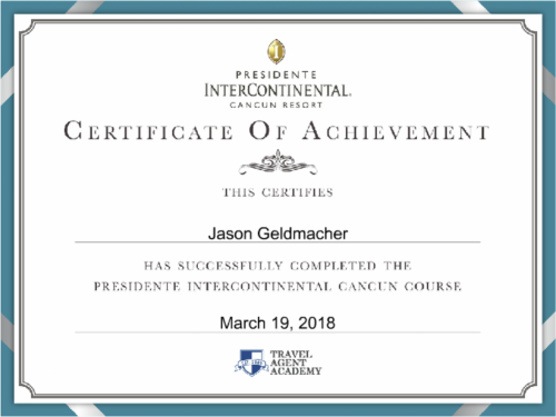 Presidente InterContinental Specialist Cancun