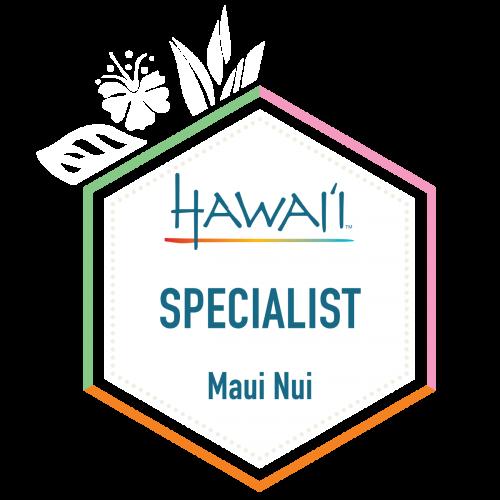 HS badge MauiNui - Accredited