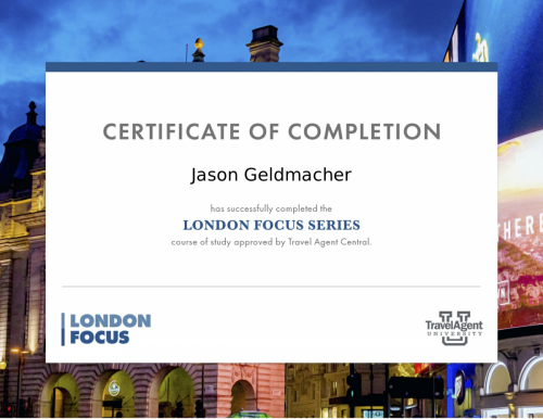 London Certificate