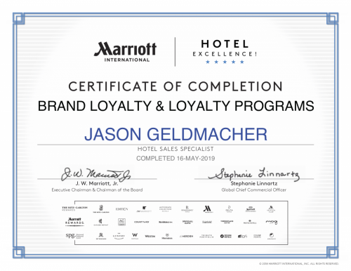 Marriott certificate-2