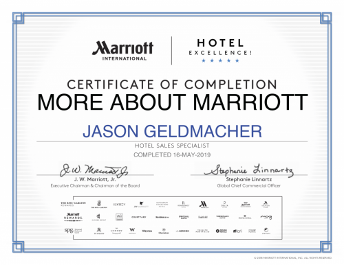 Marriott certificate-3
